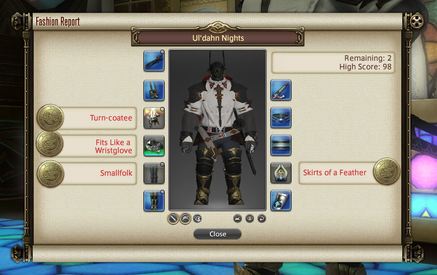 Fashion Report – 02/08/2019