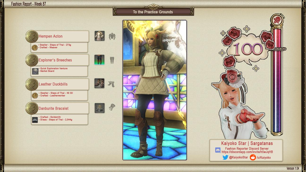 Fashion Report – 27/09/2019