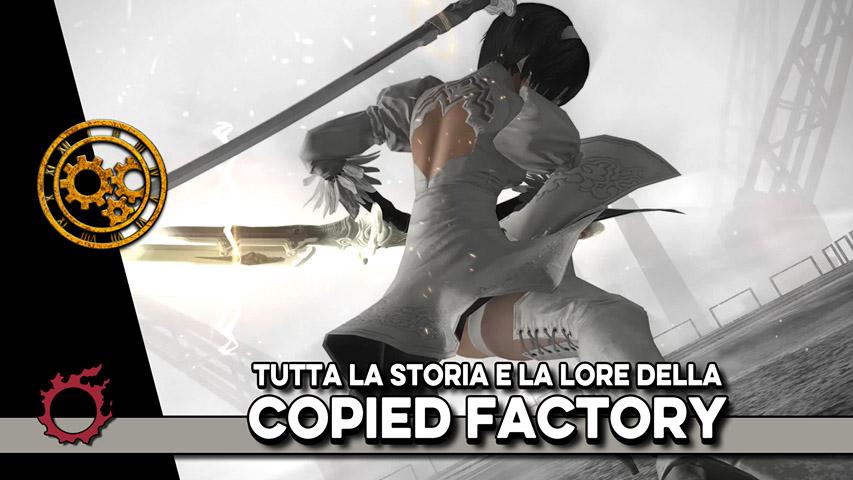 The Copied Factory – Storia e Lore