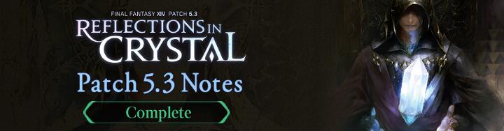 Patch 5.3 Notes – Traduzione italiana